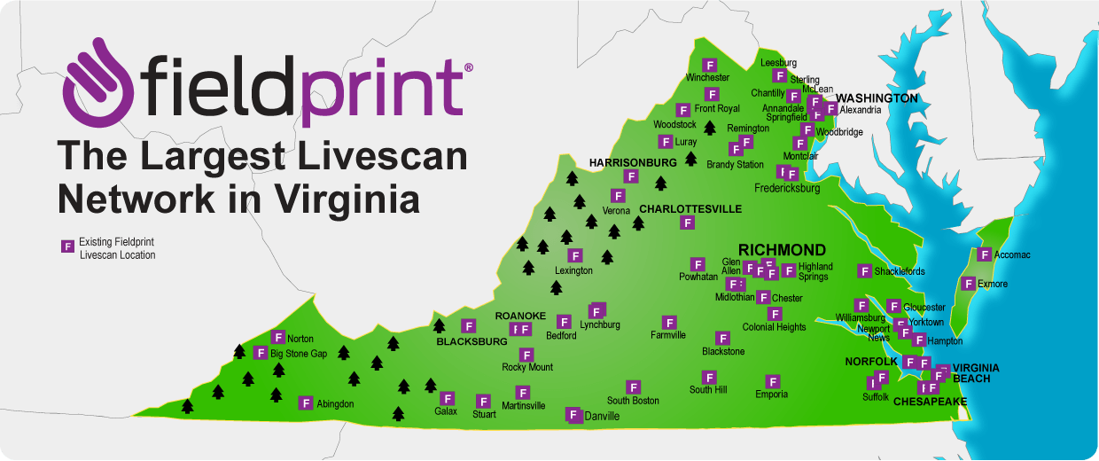 Virginia Livescan locations